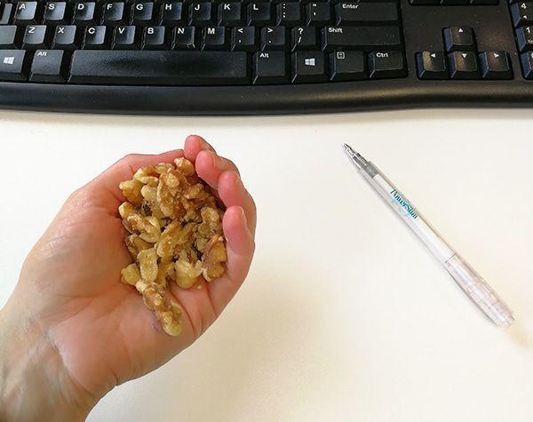 Tussendoortje walnoten