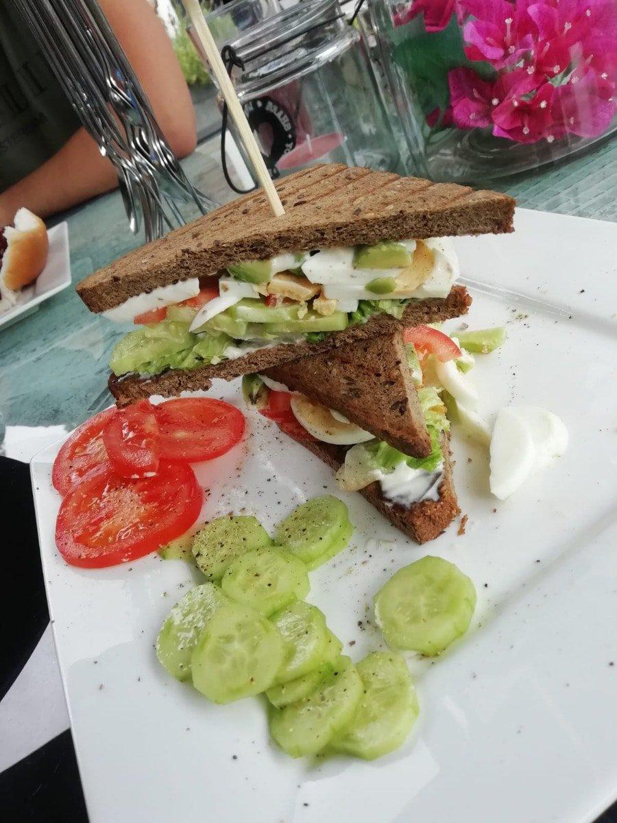 Sandwich sesam lijnzaadbrood