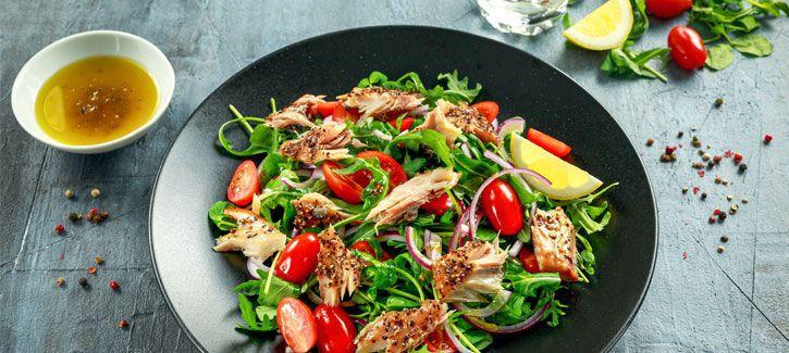 Zomerse Powerslim recept Gerookte makreelsalade