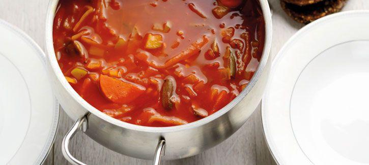 Maaltijdsoep tomaat