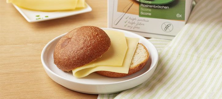 PowerSlim scone met kaas