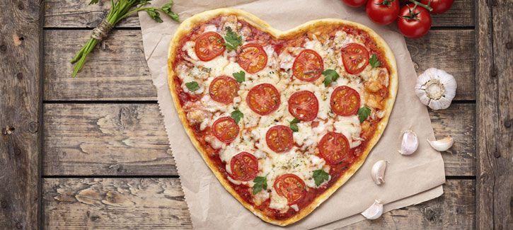 Valentijnspizza